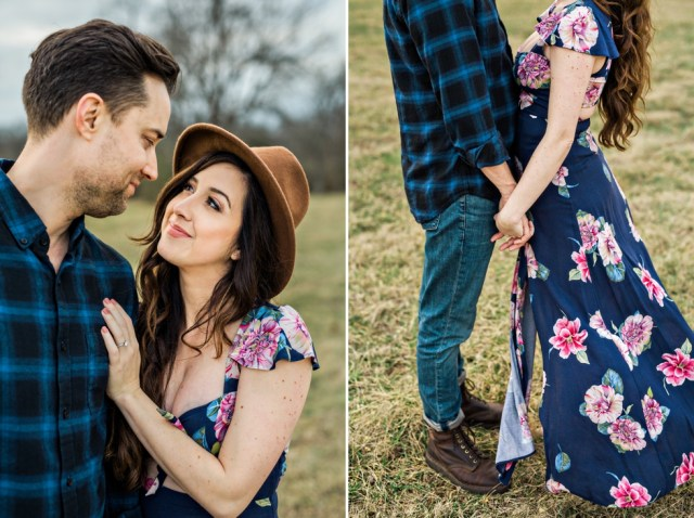 Nashville Engagement Session Boho Weddings