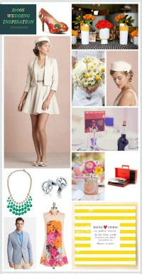 1960s Wedding Inspiration via Revel