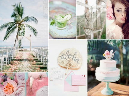 Tropical Pastels via Burnestt's Boards