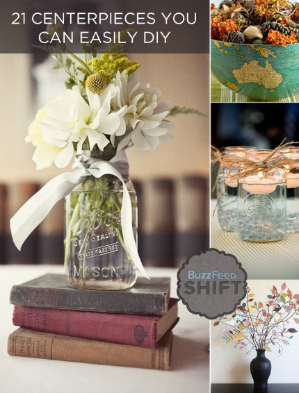 21 Easy DIY Centerpieces For Fall amp Winter Weddings