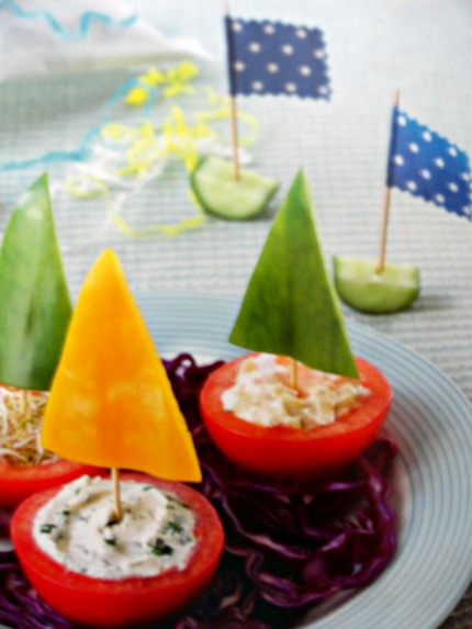 Fun Food for Fussy Little Eaters Pirate Boats