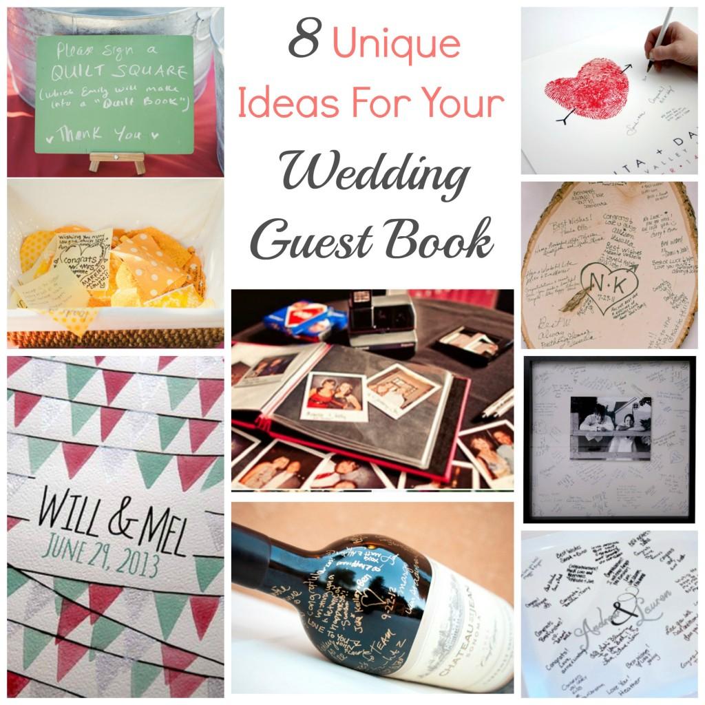 8 Unique Ideas For Your Wedding Guest Book – DIY Weddings
