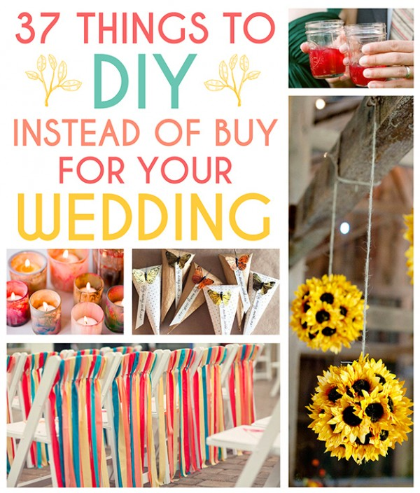 We'll admit it: DIY elements at a wedding really add a personal touch to the event. And of course, they can save you a lot of money. Regardless of how naturally crafty you are, there are still certain elements of the big day that are simply too much to take on and shouldn't be DIY'd–especially when you have so many other things to do.