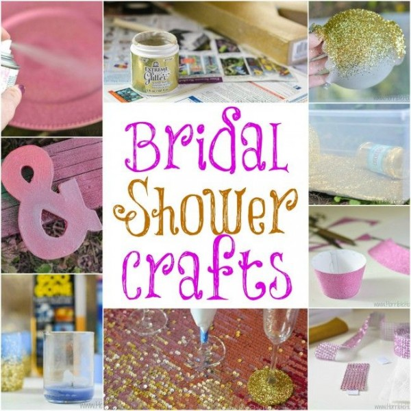 Pink Amp Gold Bridal Shower Ideas DIY Weddings
