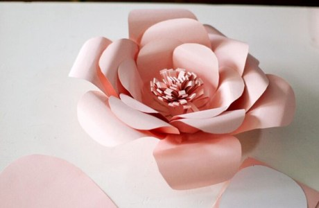 How to Make a Giant Paper Flower