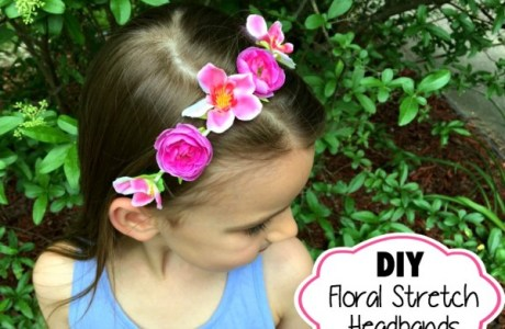 DIY : Stretchable Floral Crowns