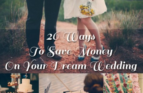 26 Ways to Save a Little on Your Wedding Day