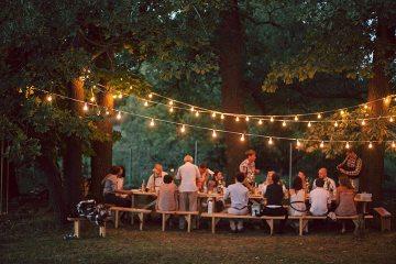 Уютная свадьба своими руками