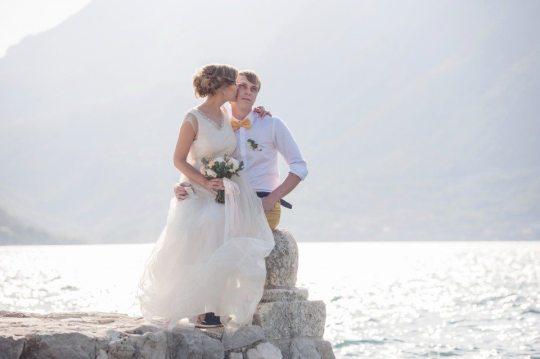 Солнечное лето: свадьба Ксюши и Славы в Черногории