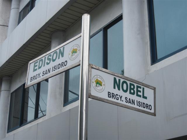 Nobel cor. Edison St., Makati