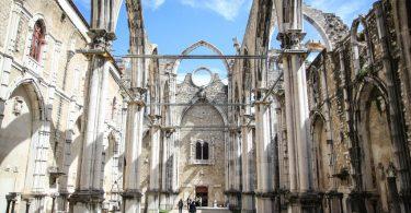 Covento do Carmo - Lisbonne - Tremblement de Terre 1755