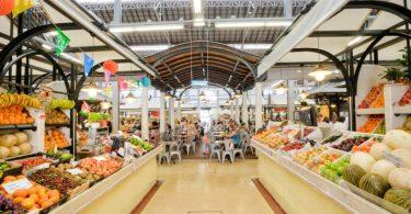 Mercado de Campo de Ourique - Marche couvert - Lisbonne