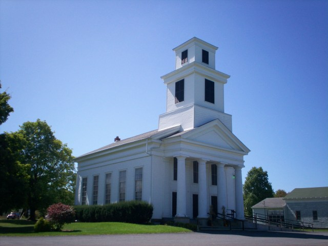 """""""Freedom Congregational Church"""" by JonRidinger - Own work. Licensed under CC BY 3.0 via Wikimedia Commons"""