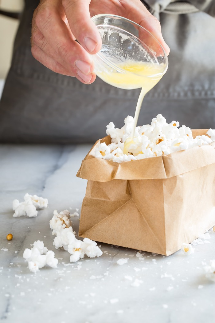Paper Bag Popcorn from weelicious.com