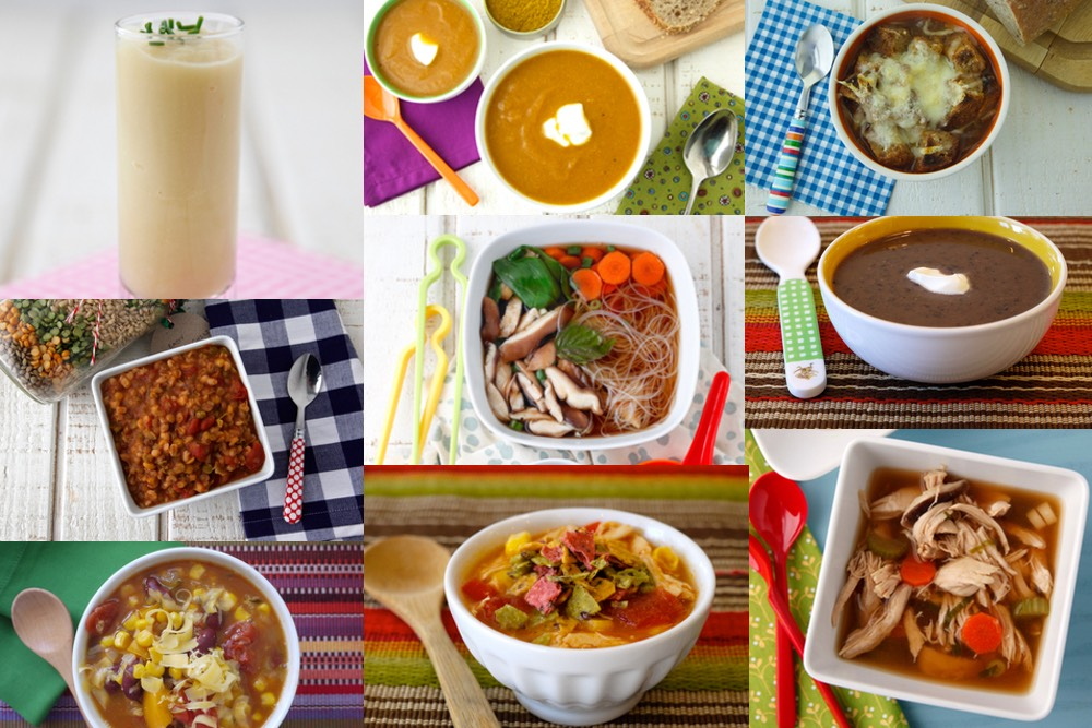 9 Soups to Make and Freeze from weelicious.com