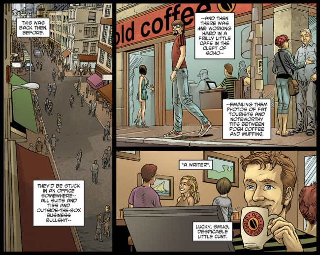 Crossed - Wish You Were Here Chapter 2 Page 5 by Simon Spurrier and Javier Barreno