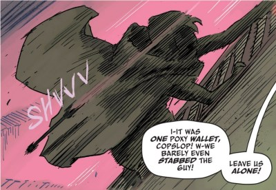 The Spire #1 panel detail by Simon Spurrier and Jeff Stokely