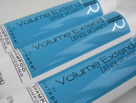 Christophe Denise Richards 3 Denise Richards Volume Extend Shampoo and Conditioner By Cristophe   Review