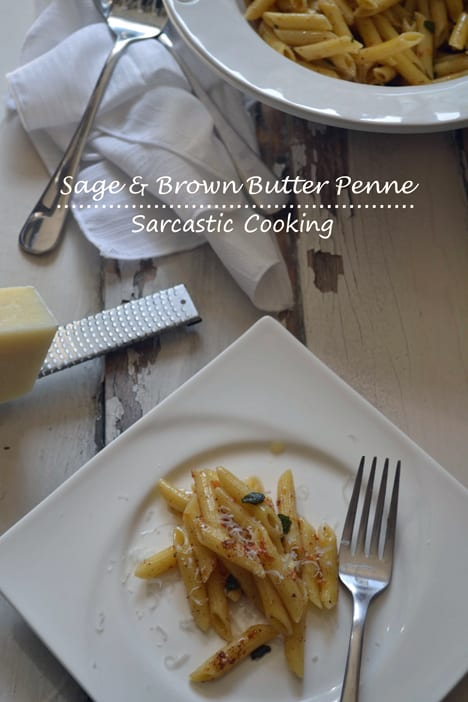 Sage Brown Butter Penne Sage and Brown Butter Penne Recipe