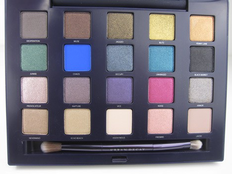 UD Vice4 Urban Decay Vice Palette   review, photos & swatches