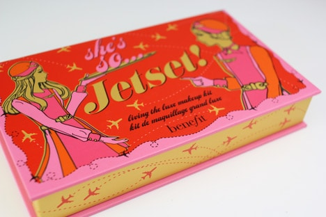 BenefitJetSet1 Benefit Holiday 2012   Shes So Jetset Review