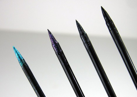 MUFEultimate9 MAKE UP FOR EVER: The Ultimate Eye Liner Collection   review, swatches and swooning