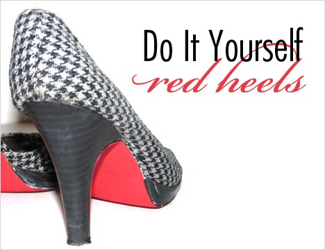 RedHeels1A How To: Make your own Red Heels