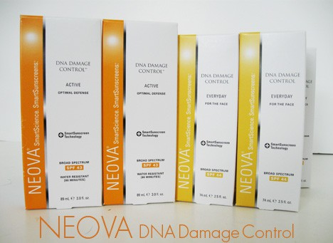 NEOVAdna1 Neova DNA Damage Control EVERYDAY (SPF 44) and ACTIVE (SPF43) Review