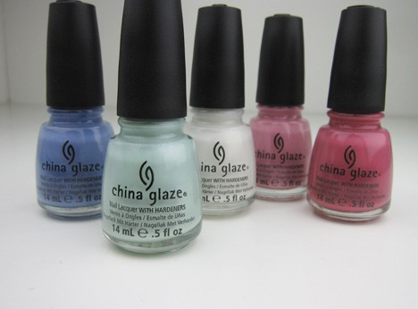 ChinaGlazeAvant2 China Glaze Avant Garden, Pastel Petals   swatches and review