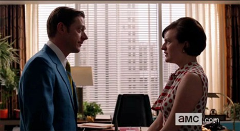 Mad Men Peggy Ted Mad Men Musings: The Better Half