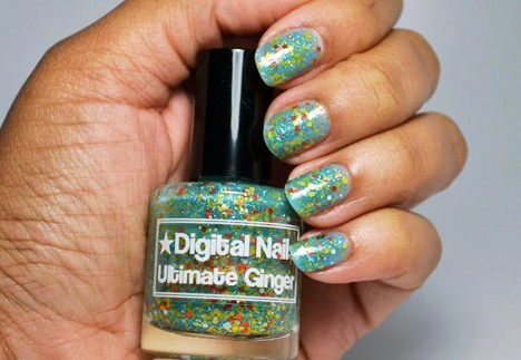 Digital Nails Ultimate Ginger swatch