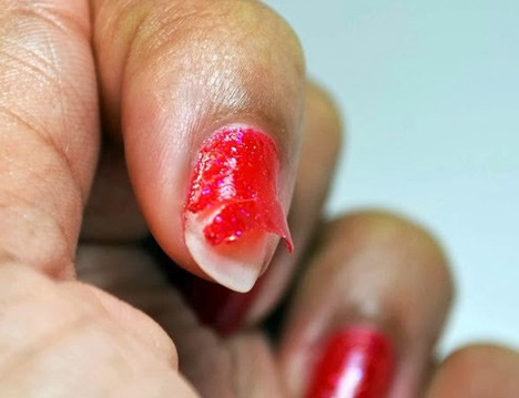 Nail Pattern Boldness Glitter A-Peel