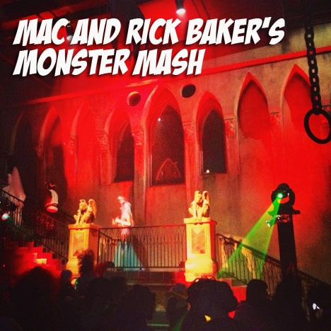 Rick Baker Halloween party