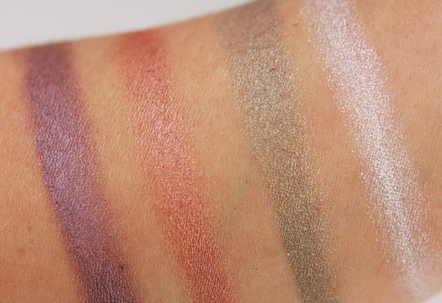 Covergirl Bombshell shineshadow swatches 6 COVERGIRL Bombshell Shineshadow   Swatches and Review