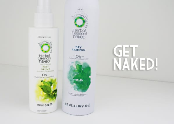 Herbal Essences Naked 2 Aim For High Style With The Bare Basics