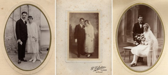 vintage wedding photos