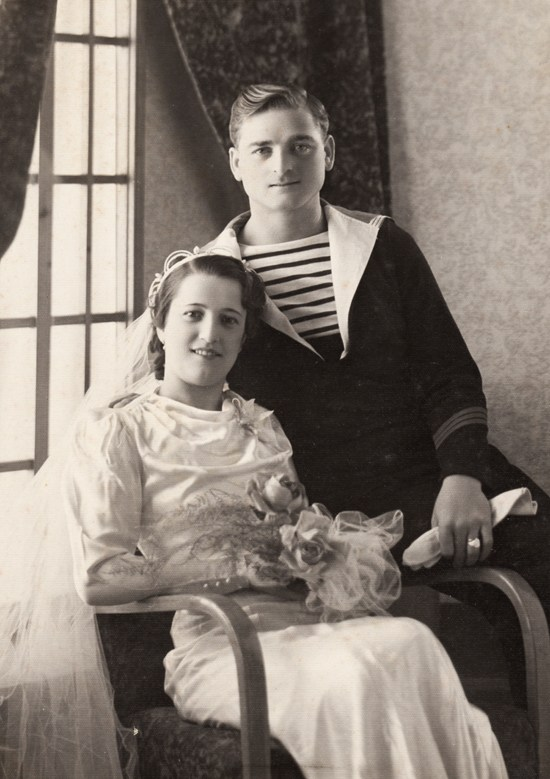 1950s vintage wedding photos