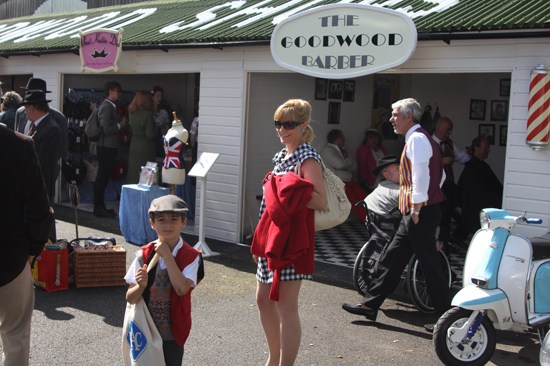 1960s fashions at Goodwood Revival 2012