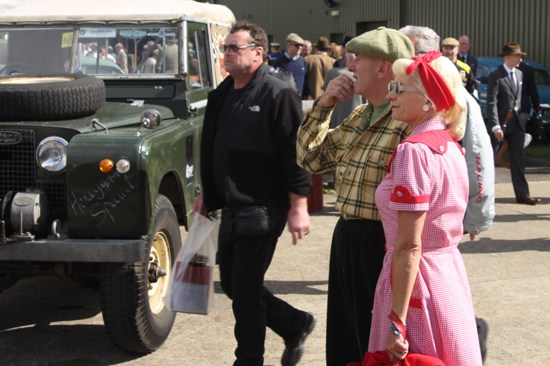 1950s fashion at Goodwood Revival 2012