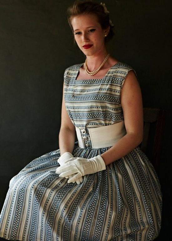 Vintage 1950s fashions