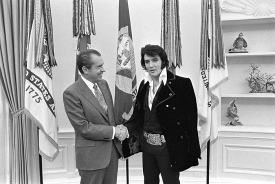 Elvis Presley & Richard Nixon 1970