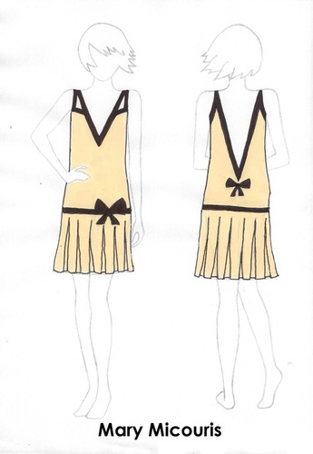 my flapper dress design
