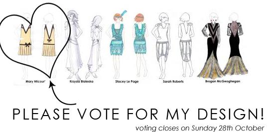 Please vote for my design!