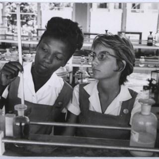 1960s schoolgirls in Barbados