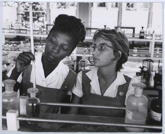 1960s vintage photo Barbados