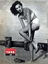 Frances Vorne WWII pin up for YANK Magazine