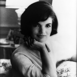 Official 60s White House portrait of Jackie Kennedy