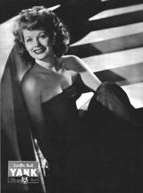 Lucille Ball WWII pin up for YANK Magazine
