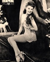 Peggy Corday WWII pin up for YANK Magazine