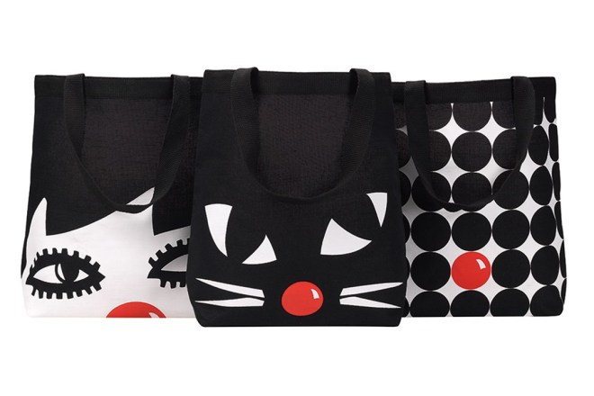 Lulu Guinness Red Nose Day bags